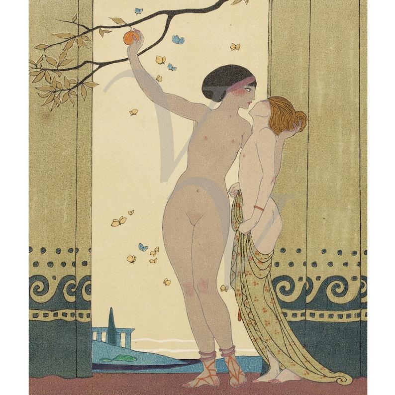 Antique American Art Deco Nude Listed Female Oil Painting Self Portrait Studio