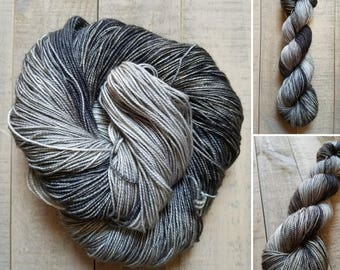 Take The Black | Dyed to Order | Game of Thrones Inspired Hand-Dyed Yarn