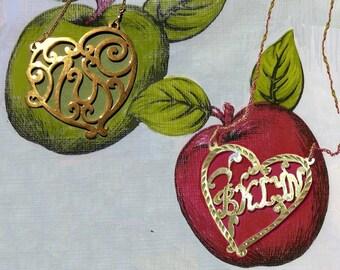 Love Your Burg Brooklyn monogram necklace, graduation gift, Brooklyn souvenir, take Brooklyn with you when you go
