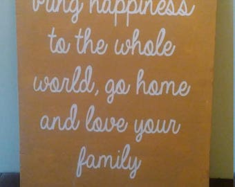 Bring Happiness to the world