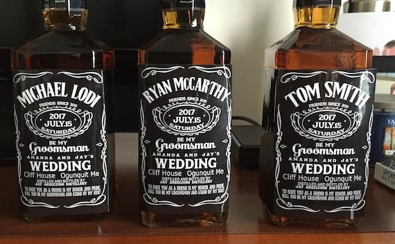 Personalized Custom Liquor Label