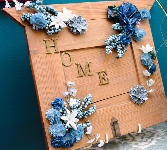 Repurposed Cabinet Door Home Sign Etsy