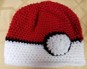Pokemon Ball beanie hat
