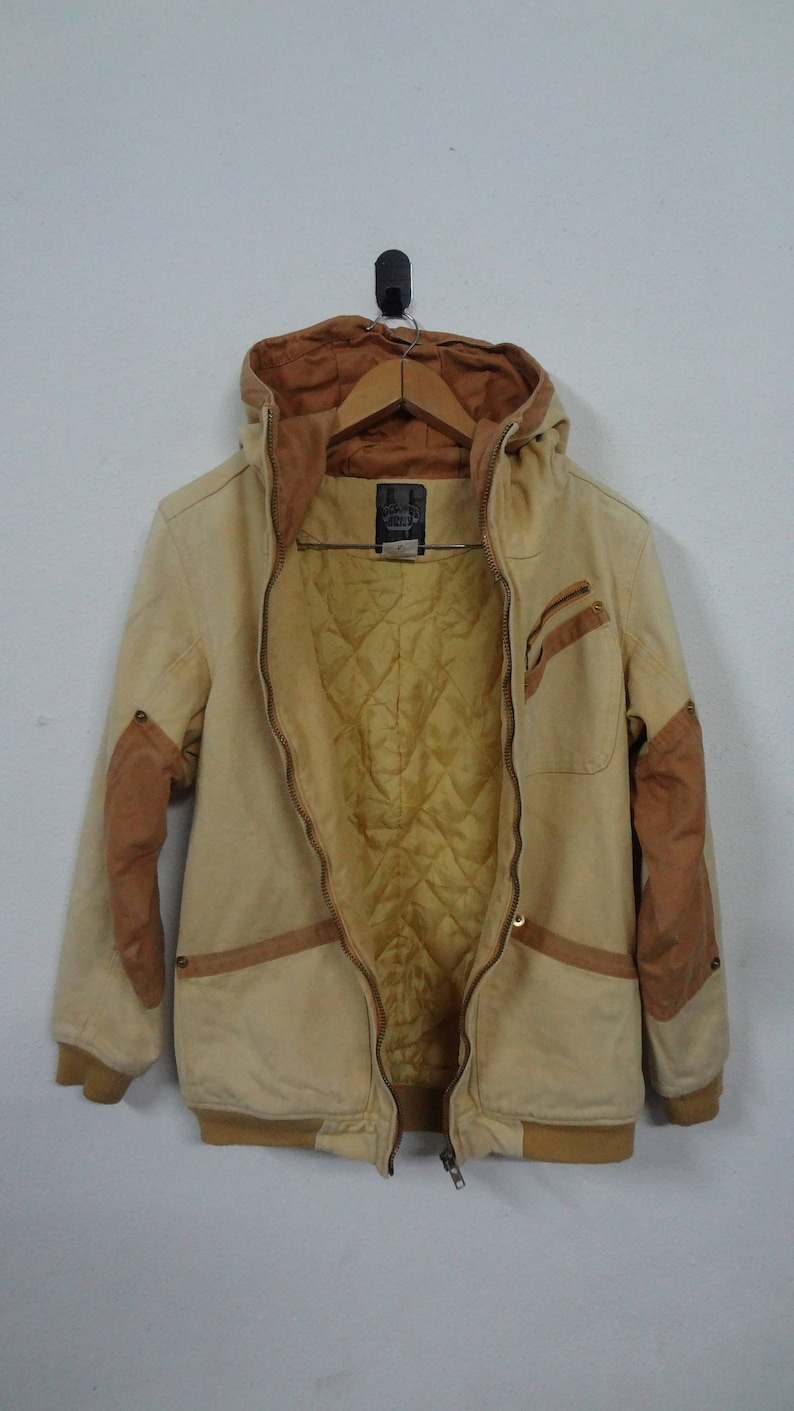 Vintage Octopus Army Hoodies Jackets Size M