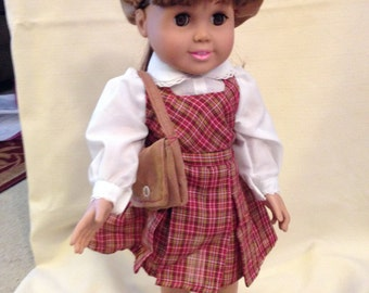 """18"""" Doll (Am Girl) 1900 school outfit"""