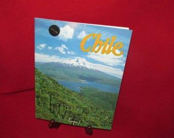 "Vintage South American Pictorial Publication ""CHILE"""