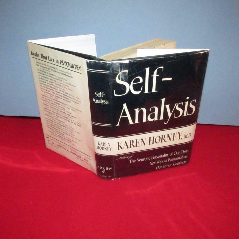 Self Analysis by Karen Horney, M D