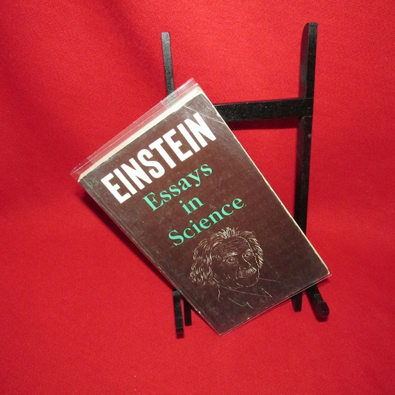 Einstein Essays In Science Paperback  Etsy Einstein Essays In Science Paperback