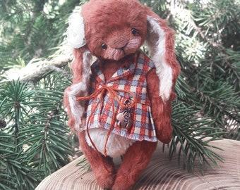 Teddy bunny Lily, teddy, bunny, handmade toy
