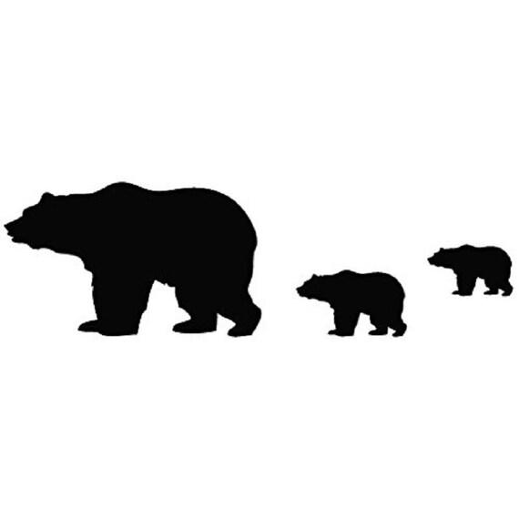 La famille ours du pôle Nord / ours sticker