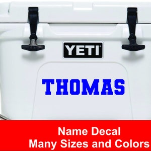 Yeti Roadie Cooler With Antler Decal Only Yeti Cooler Decal Yeti Cooler Yeti Roadie Yeti