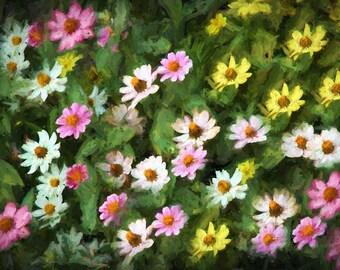 Floral Flower Arrangement Canvas Painting 1301,Floral Art Print,Flower Art Print,Floral Painting,Flower Artwork,Flower Wall Art,