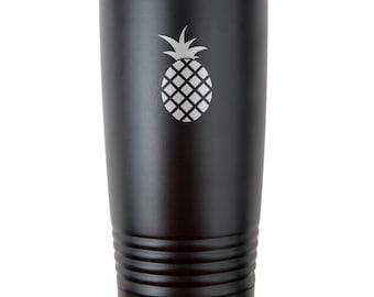 d8751fe5c12 Pineapple travel mug | Etsy
