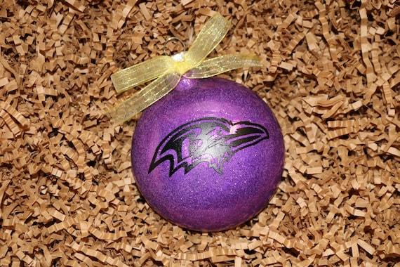 Baltimore Ravens Christmas Ornament - Baltimore Ravens Christmas Ornament Etsy