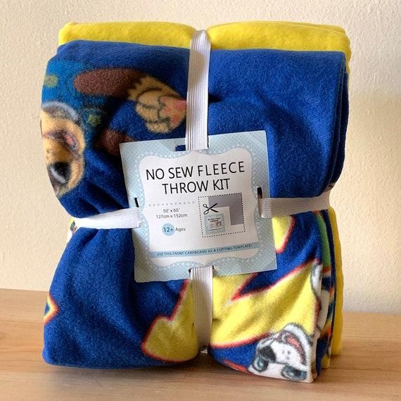 Paw Patrol Gals No Sew Throw Anti-Pill Fleece Fabric Kit