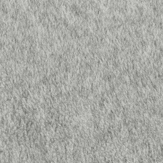 POLAR FLEECE FABRIC SOLID HEADED GRAY ANTI-PILL BTY