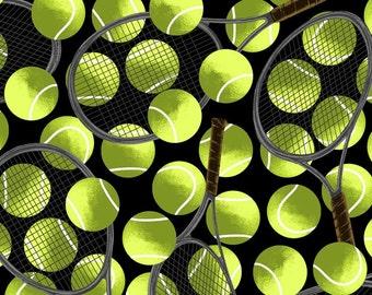 Tennis Anti-Pill Premium Fleece Fabric By the Yard