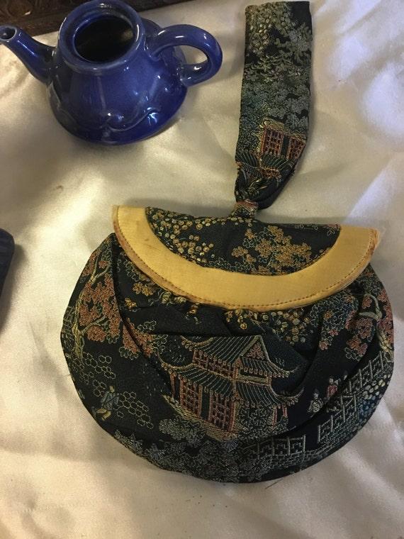 Oriental Wristlet