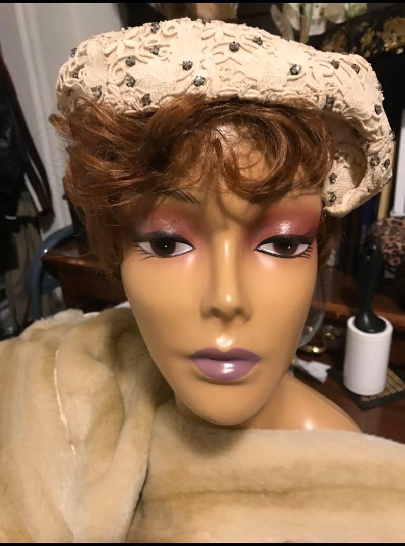 Rhinestone Hat