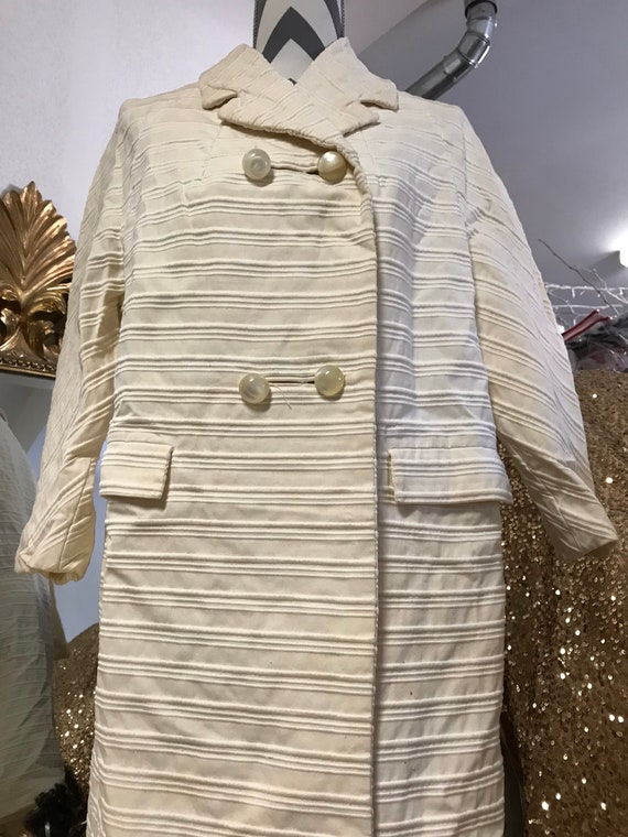 1950's Lilly Ann Cream Coat