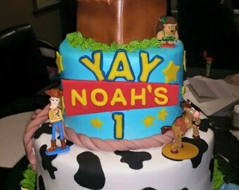 Toy Story Theme Cake Kit