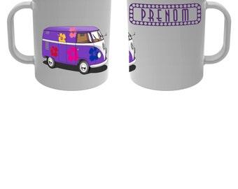 Mug Cup Combi vw with custom name