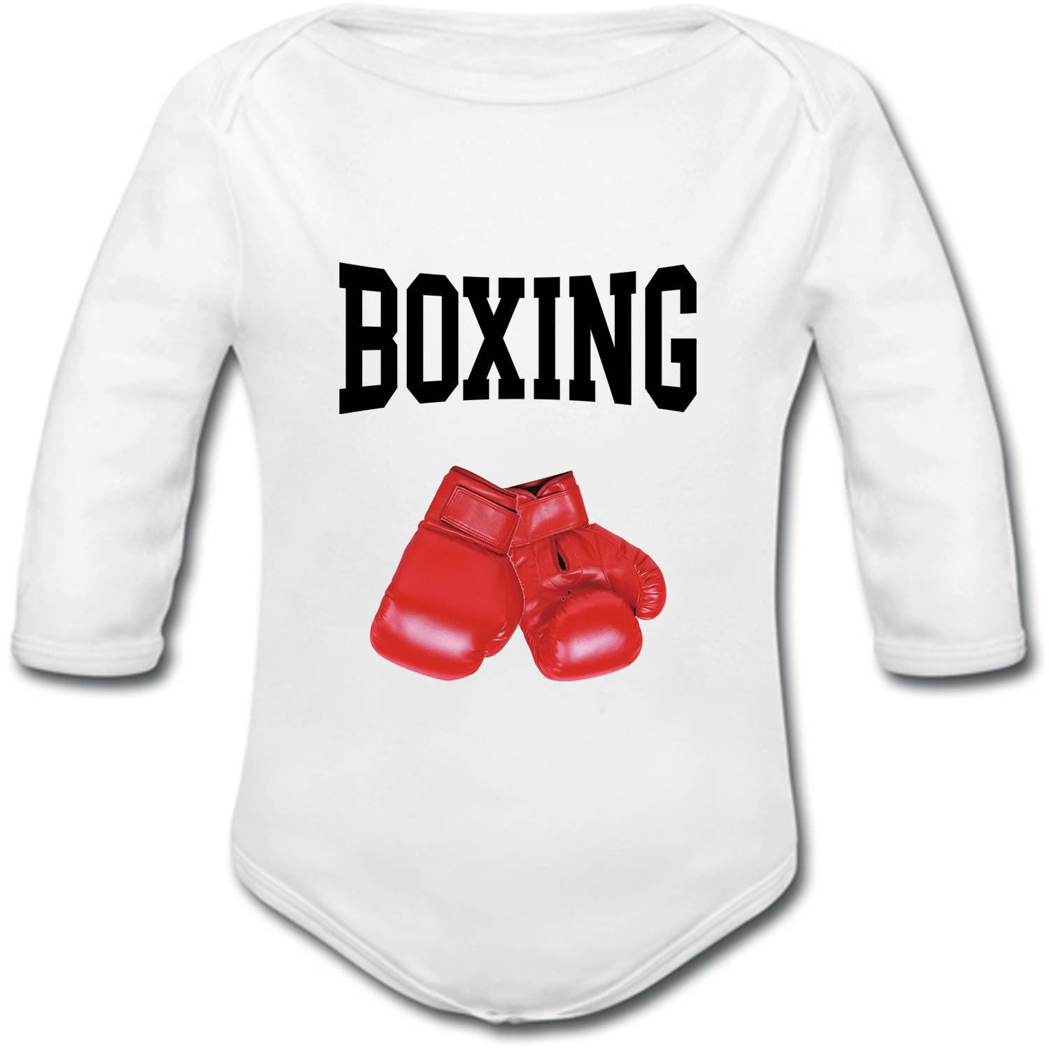 Onesie Personalized Boxing Gloves Name Option