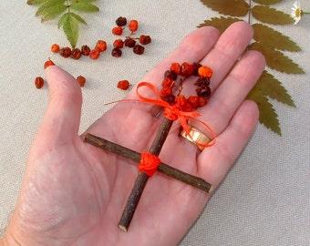 Rowan Cross Charm