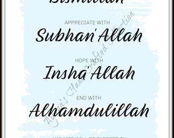Insha'allah | Etsy
