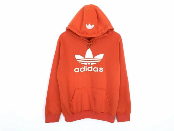 Pull Trefoil Adidas Pullover Rare À Gros Spellout Capuche Logo wqTYaYd5