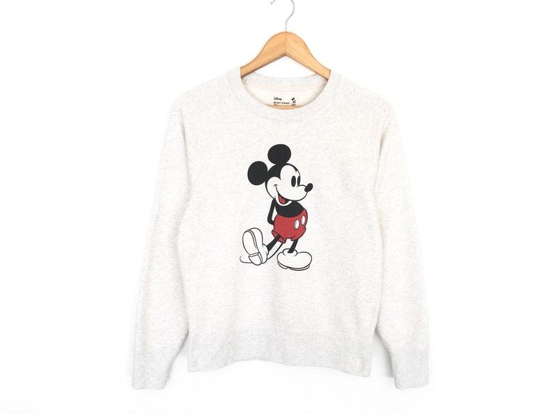 a1e78d45d45817 Rare Mickey Mouse Walt Disney Cartoon Pullover Jumper | Etsy