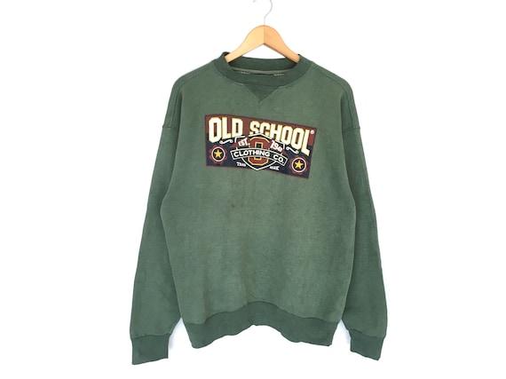 Rare!! Old School Spellout Pullover Jumper Sweatsh