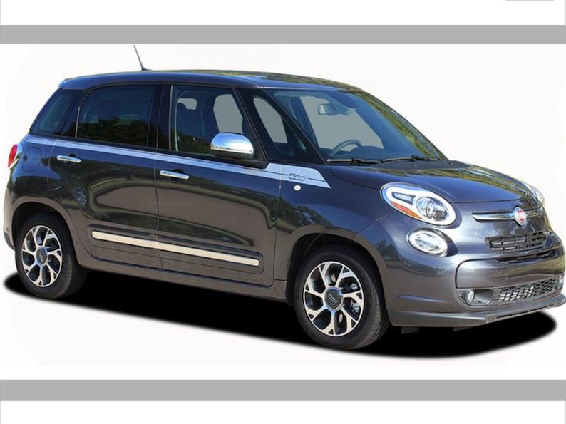 59254491c Stickers Set Fiat 500 L Side Stripe Door Decals Fiat 500 L
