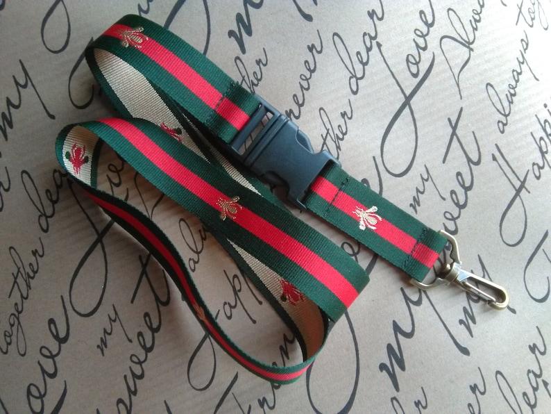 3788befcc5b Designer Key Lanyard Gucci Inspired Edition