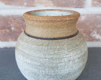 Buck Pottery Vase, Studio Art Pottery, Texas Pottery, Buck Pottery