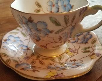 Foley English Bone China Teacup and plate, Foley English Bone China, Foley China, Vintage Teacups, Antique Teacups