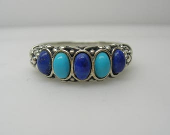 Womens New Mexico style Silver ring