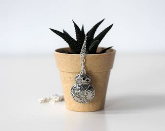Star Wars BB8 necklace (gold/silver)