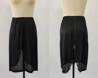 1970s Sears Half Slip - The Doesn't Slip - 70's Skirt Slip 70s Lingerie Women's Vintage Size Small