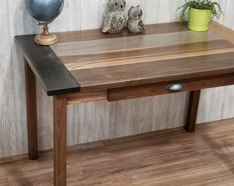 Writing Desk With Single Drawer, Farmhouse, Cottage, Table, Console, Office