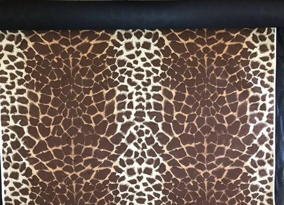 26 Feet 8 6 Yards Giraffe Print Upholstery Fabric Etsy