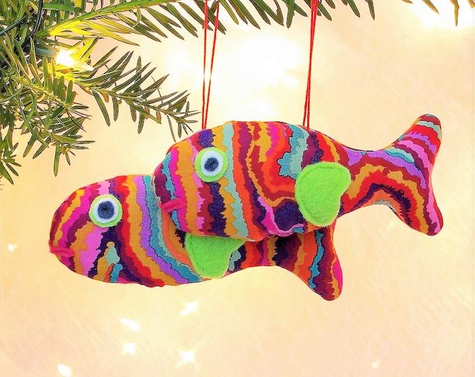 Fish Nautical Ornaments - YORNAMENTS - Modern Handmade Gifts, Felt ...