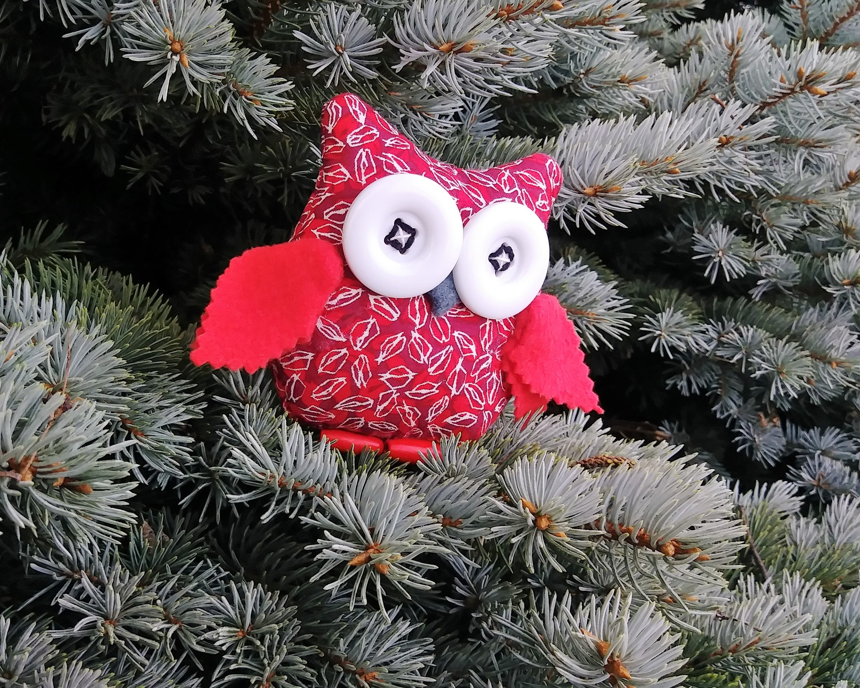 felt christmas ornaments felt owl decorations christmas tree ornaments owl ornaments felt ornaments christmas owl
