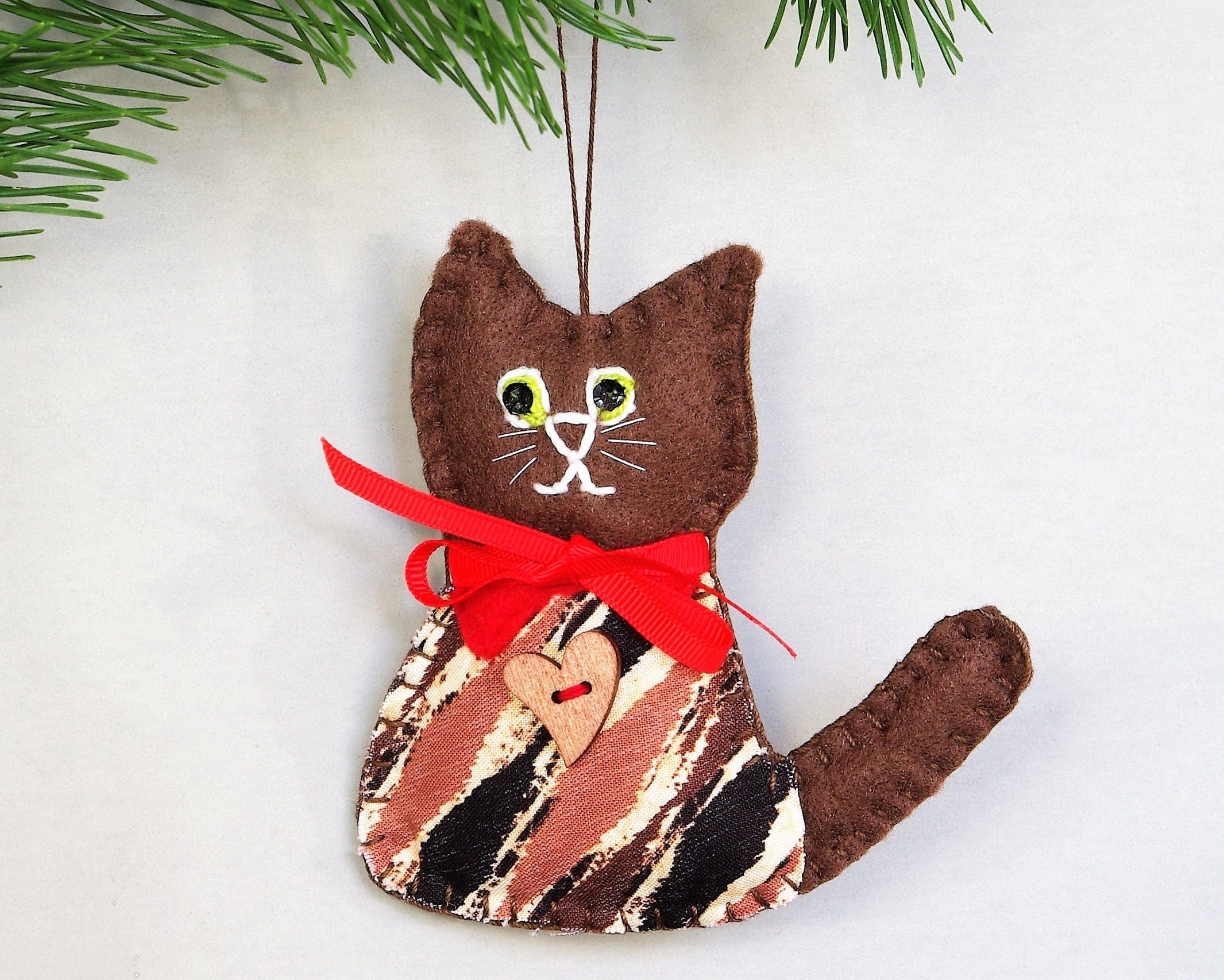 christmas decorations felt cat decorations gallery photo gallery photo gallery photo