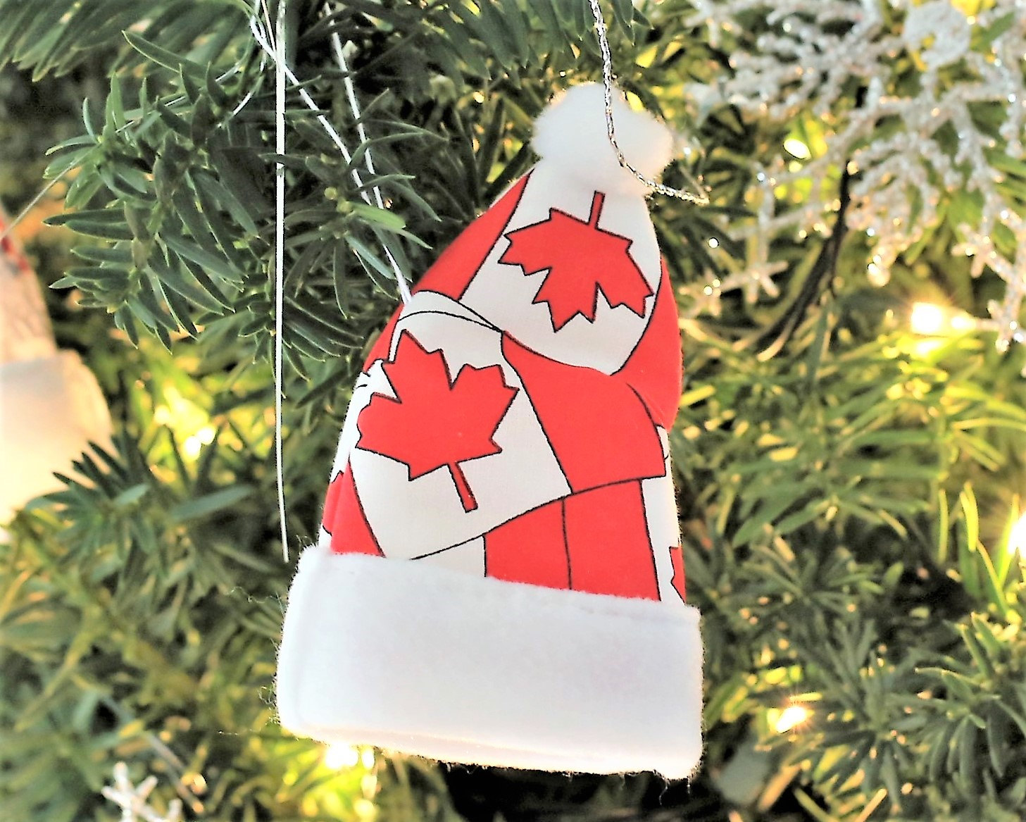canada ornament canadian gift for christmas canadian christmas decorations christmas ornaments canadian baby maple leaf canada flag ornament - Christmas Decorations Canada