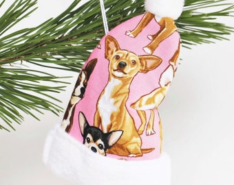 Chihuahua Dog, Chihuahua Gifts Dog Gifts, Gift for Her Dog Lover Gift Chihuahua Decoration Chihuahua Christmas Ornament Christmas Decoration