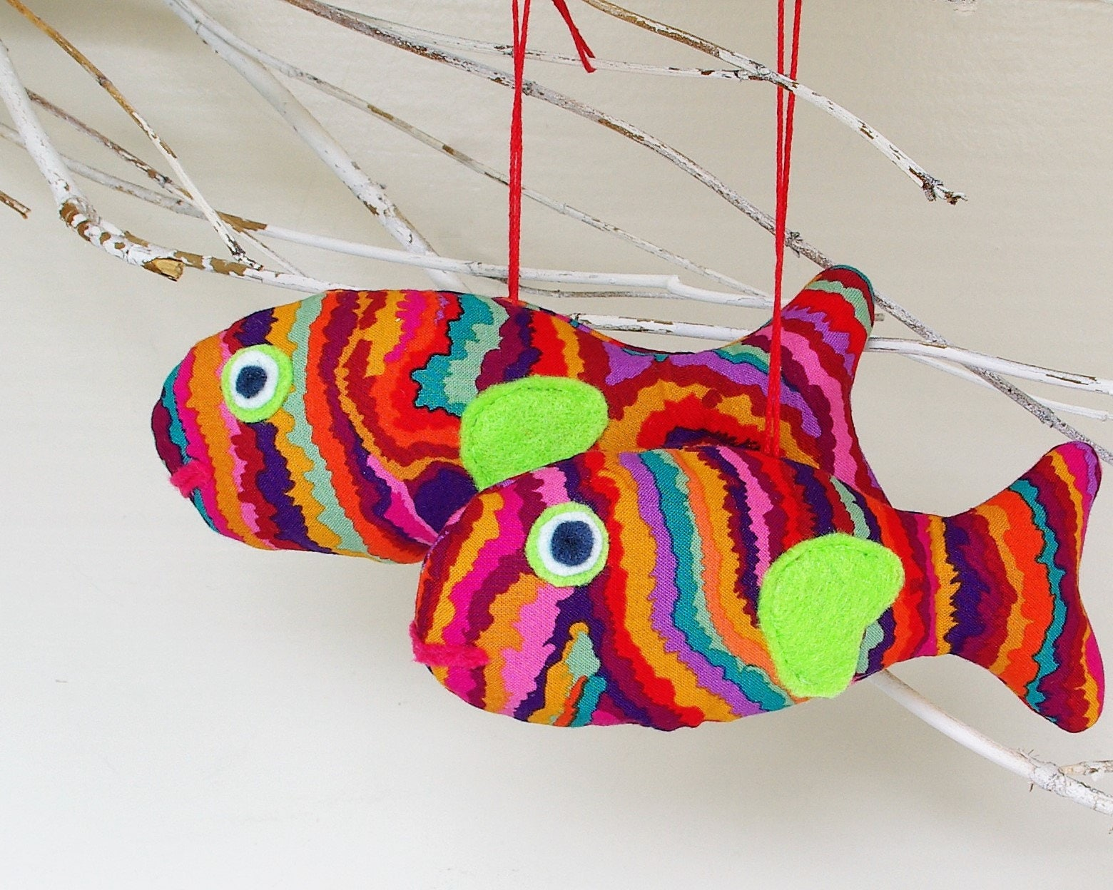 Fish, Fish Christmas Gifts Colorful Fish Gifts Fish Ornaments ...