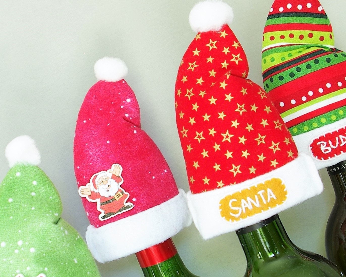 Hostess Gift Ideas for Christmas Party Decorations Wine Lover Gift ...