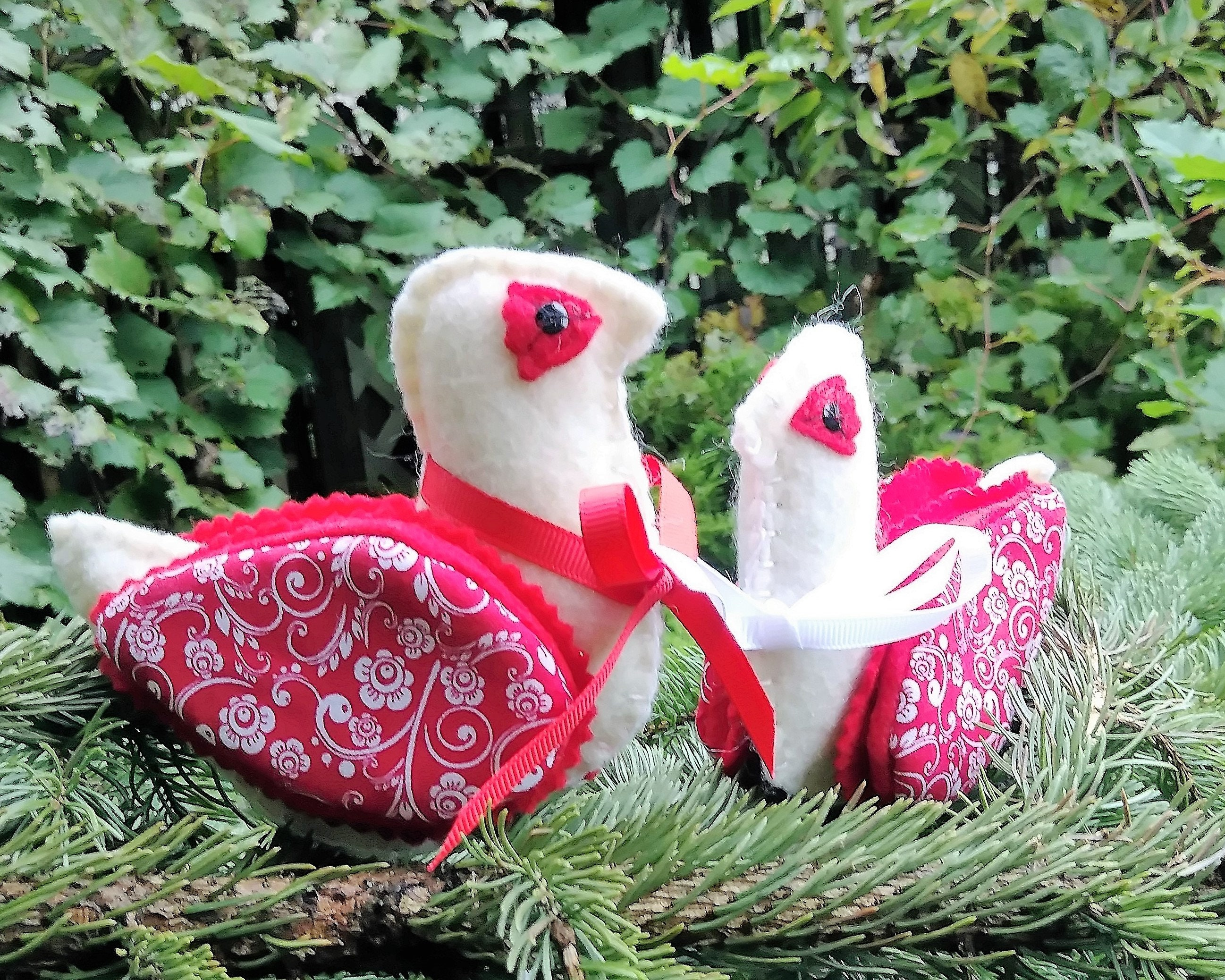 bird ornaments felt bird christmas ornaments christmas decorations christmas tree ornaments gallery photo gallery photo gallery - Bird Christmas Decorations