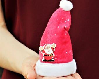 Santa Hat, Christmas Gifts, Ornaments, Personalized, Gift Ideas, Christmas Decorations, Christmas Presents, Gift for Men -